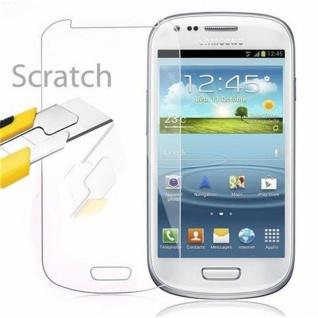 Cadorabo Panzer Folie für Samsung Galaxy S3 MINI - Schutzfolie in KRISTALL KLAR - Gehärtetes (Tempered) Display-Schutzglas in 9H Härte mit 3D Touch Kompatibilität - Vorschau 2