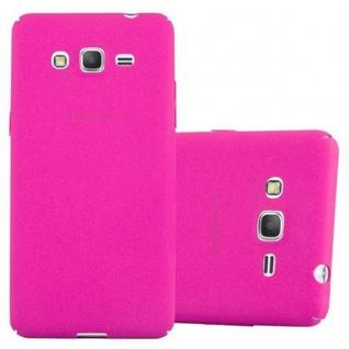 Cadorabo Hülle für Samsung Galaxy GRAND PRIME in FROSTY PINK Hardcase Handyhülle aus Plastik gegen Kratzer und Stöße Schutzhülle Bumper Ultra Slim Back Case Hard Cover
