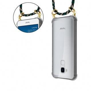 Cadorabo Handy Kette für Honor 5C in CAMOUFLAGE - Silikon Necklace Umhänge Hülle mit Gold Ringen, Kordel Band Schnur und abnehmbarem Etui ? Schutzhülle - Vorschau 5