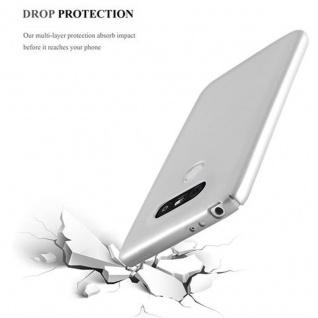 Cadorabo Hülle für LG G5 in METALL SILBER ? Hardcase Handyhülle aus Plastik gegen Kratzer und Stöße ? Schutzhülle Bumper Ultra Slim Back Case Hard Cover - Vorschau 5
