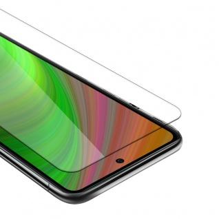 Cadorabo Panzer Folie kompatibel mit Xiaomi Mi 10T Lite Schutzfolie in KRISTALL KLAR Gehärtetes (Tempered) Display-Schutzglas in 9H Härte mit 3D Touch Kompatibilität