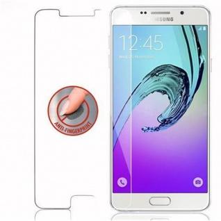 Cadorabo Panzer Folie für Samsung Galaxy A7 2016 - Schutzfolie in KRISTALL KLAR - Gehärtetes (Tempered) Display-Schutzglas in 9H Härte mit 3D Touch Kompatibilität - Vorschau 4