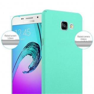 Cadorabo Hülle für Samsung Galaxy A3 2016 in FROSTY GRÜN - Hardcase Handyhülle aus Plastik gegen Kratzer und Stöße - Schutzhülle Bumper Ultra Slim Back Case Hard Cover - Vorschau 5