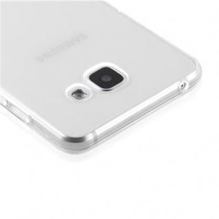 Cadorabo Hülle für Samsung Galaxy A5 2016 in VOLL TRANSPARENT - Handyhülle aus flexiblem TPU Silikon - Silikonhülle Schutzhülle Ultra Slim Soft Back Cover Case Bumper - Vorschau 5
