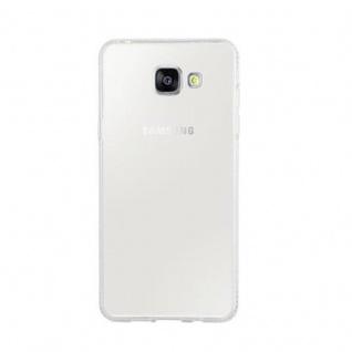 Cadorabo Hülle für Samsung Galaxy A5 2016 - Hülle in TRANSPARENT WEIß ? Handyhülle aus TPU Silikon im Strass Design - Silikonhülle Schutzhülle Ultra Slim Soft Back Cover Case Bumper - Vorschau 2