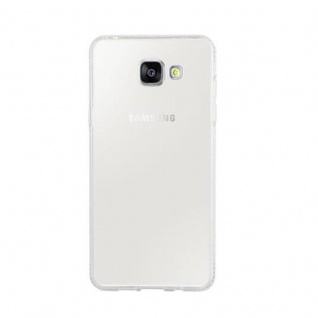 Cadorabo Hülle für Samsung Galaxy A5 2016 (6) - Hülle in TRANSPARENT WEIß - Handyhülle aus TPU Silikon im Strass Design - Silikonhülle Schutzhülle Ultra Slim Soft Back Cover Case Bumper - Vorschau 2