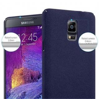 Cadorabo Hülle für Samsung Galaxy NOTE 4 in FROSTY BLAU - Hardcase Handyhülle aus Plastik gegen Kratzer und Stöße - Schutzhülle Bumper Ultra Slim Back Case Hard Cover - Vorschau 5