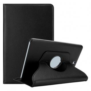 """Cadorabo Tablet Hülle für Samsung Galaxy Tab S3 (9, 7"""" Zoll) SM-T820N / T825N in HOLUNDER SCHWARZ Book Style Schutzhülle OHNE Auto Wake Up mit Standfunktion und Gummiband Verschluss"""