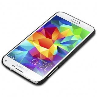 Cadorabo Hülle für Samsung Galaxy S5 / S5 NEO in WOODY SCHWARZ ? Hardcase Handyhülle aus Plastik gegen Kratzer und Stöße ? Schutzhülle Bumper Ultra Slim Back Case Hard Cover - Vorschau 2