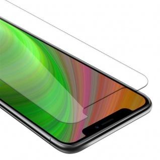 Cadorabo Panzer Folie für Apple iPhone 11 (XI) Schutzfolie in KRISTALL KLAR Gehärtetes (Tempered) Display-Schutzglas in 9H Härte mit 3D Touch Kompatibilität