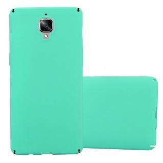 Cadorabo Hülle für OnePlus 3 / 3T in FROSTY GRÜN - Hardcase Handyhülle aus Plastik gegen Kratzer und Stöße - Schutzhülle Bumper Ultra Slim Back Case Hard Cover - Vorschau 1