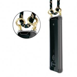 Cadorabo Handy Kette für LG G6 in CAMOUFLAGE ? Silikon Necklace Umhänge Hülle mit Gold Ringen, Kordel Band Schnur und abnehmbarem Etui ? Schutzhülle - Vorschau 5