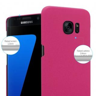 Cadorabo Hülle für Samsung Galaxy S7 EDGE in FROSTY PINK - Hardcase Handyhülle aus Plastik gegen Kratzer und Stöße - Schutzhülle Bumper Ultra Slim Back Case Hard Cover - Vorschau 3