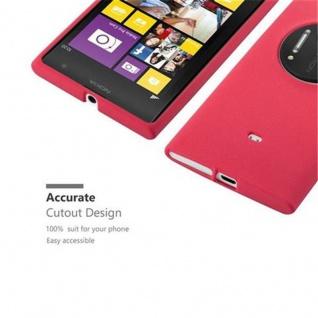 Cadorabo Hülle für Nokia Lumia 1020 in FROST ROT - Handyhülle aus flexiblem TPU Silikon - Silikonhülle Schutzhülle Ultra Slim Soft Back Cover Case Bumper - Vorschau 2