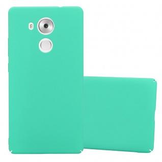 Cadorabo Hülle für Huawei MATE 8 in FROSTY GRÜN - Hardcase Handyhülle aus Plastik gegen Kratzer und Stöße - Schutzhülle Bumper Ultra Slim Back Case Hard Cover