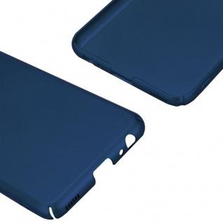 Cadorabo Hülle für Huawei P10 in METALL BLAU - Hardcase Handyhülle aus Plastik gegen Kratzer und Stöße - Schutzhülle Bumper Ultra Slim Back Case Hard Cover - Vorschau 5