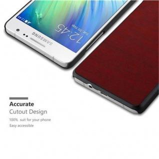 Cadorabo Hülle für Samsung Galaxy A5 2015 in WOODY ROT ? Hardcase Handyhülle aus Plastik gegen Kratzer und Stöße ? Schutzhülle Bumper Ultra Slim Back Case Hard Cover - Vorschau 3