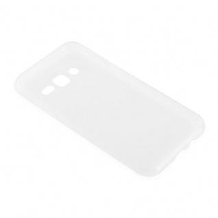 Cadorabo Hülle für Samsung Galaxy J3 2015 in VOLL TRANSPARENT - Handyhülle aus flexiblem TPU Silikon - Silikonhülle Schutzhülle Ultra Slim Soft Back Cover Case Bumper - Vorschau 3