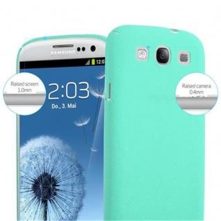 Cadorabo Hülle für Samsung Galaxy S3 / S3 NEO in FROSTY GRÜN - Hardcase Handyhülle aus Plastik gegen Kratzer und Stöße - Schutzhülle Bumper Ultra Slim Back Case Hard Cover - Vorschau 5