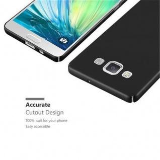 Cadorabo Hülle für Samsung Galaxy A5 2015 in METALL SCHWARZ ? Hardcase Handyhülle aus Plastik gegen Kratzer und Stöße ? Schutzhülle Bumper Ultra Slim Back Case Hard Cover - Vorschau 3
