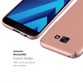 Cadorabo Hülle für Samsung Galaxy A5 2017 in METALL ROSE GOLD ? Hardcase Handyhülle aus Plastik gegen Kratzer und Stöße ? Schutzhülle Bumper Ultra Slim Back Case Hard Cover - Vorschau 3