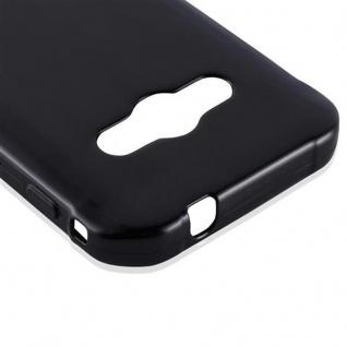 Cadorabo Hülle für Samsung Galaxy XCOVER 3 in SCHWARZ - Handyhülle aus flexiblem TPU Silikon - Silikonhülle Schutzhülle Ultra Slim Soft Back Cover Case Bumper - Vorschau 4