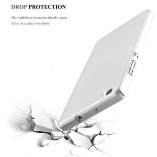 Cadorabo Hülle für Huawei P8 LITE 2015 in METALL SILBER ? Hardcase Handyhülle aus Plastik gegen Kratzer und Stöße ? Schutzhülle Bumper Ultra Slim Back Case Hard Cover - Vorschau 5