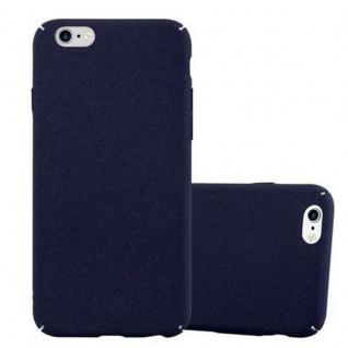 Cadorabo Hülle für Apple iPhone 6 / iPhone 6S in FROSTY BLAU - Hardcase Handyhülle aus Plastik gegen Kratzer und Stöße - Schutzhülle Bumper Ultra Slim Back Case Hard Cover