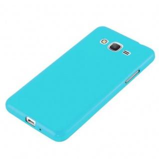 Cadorabo Hülle für Samsung Galaxy GRAND PRIME in JELLY HELL BLAU ? Handyhülle aus flexiblem TPU Silikon ? Silikonhülle Schutzhülle Ultra Slim Soft Back Cover Case Bumper - Vorschau 2