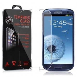 Cadorabo Panzer Folie für Samsung Galaxy S3 / S3 NEO - Schutzfolie in KRISTALL KLAR - Gehärtetes (Tempered) Display-Schutzglas in 9H Härte mit 3D Touch Kompatibilität