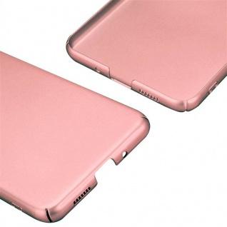 Cadorabo Hülle für Huawei P10 LITE in METALL ROSÉ GOLD - Hardcase Handyhülle aus Plastik gegen Kratzer und Stöße - Schutzhülle Bumper Ultra Slim Back Case Hard Cover - Vorschau 5