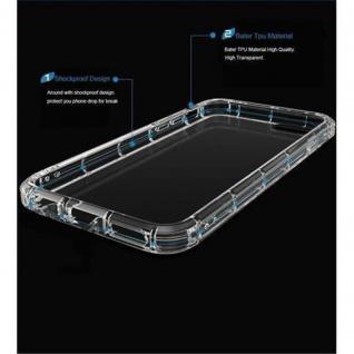 Cadorabo Hülle für Samsung Galaxy A3 2015 in VOLL TRANSPARENT - Handyhülle aus flexiblem TPU Silikon - Silikonhülle Schutzhülle Ultra Slim Soft Back Cover Case Bumper - Vorschau 3