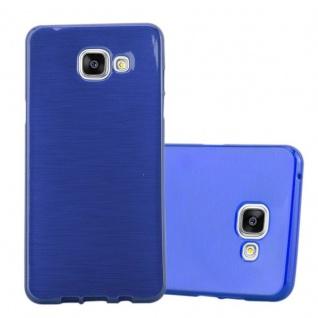 Cadorabo Hülle für Samsung Galaxy A5 2016 in BLAU - Handyhülle aus flexiblem TPU Silikon - Silikonhülle Schutzhülle Ultra Slim Soft Back Cover Case Bumper