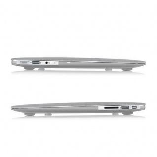 Cadorabo - Mattes HardCase für Apple MacBook AIR 11 (Zoll) ? Case Hartschale Schutzhülle Cover MacBook Tasche in TRANSPARENT - leicht und schützend - Vorschau 3