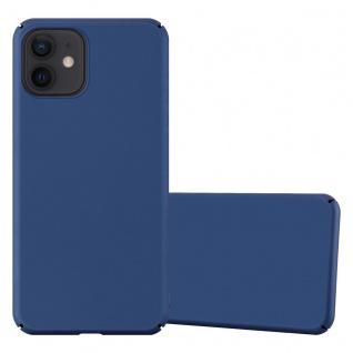 """Cadorabo Hülle für Apple iPhone 12 Mini (5, 4"""" Zoll) in METALL BLAU Hardcase Handyhülle aus Plastik gegen Kratzer und Stöße Schutzhülle Bumper Ultra Slim Back Case Hard Cover"""