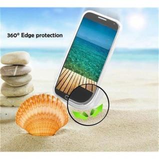 Cadorabo Hülle für Samsung Galaxy S6 in HALB TRANSPARENT ? Handyhülle aus flexiblem TPU Silikon ? Silikonhülle Schutzhülle Ultra Slim Soft Back Cover Case Bumper - Vorschau 3