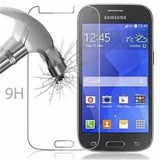 Cadorabo Panzer Folie für Samsung Galaxy ACE 4 - Schutzfolie in KRISTALL KLAR - Gehärtetes (Tempered) Display-Schutzglas in 9H Härte mit 3D Touch Kompatibilität - Vorschau 2
