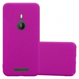 Cadorabo Hülle für Nokia Lumia 925 in FROSTY PINK - Hardcase Handyhülle aus Plastik gegen Kratzer und Stöße - Schutzhülle Bumper Ultra Slim Back Case Hard Cover