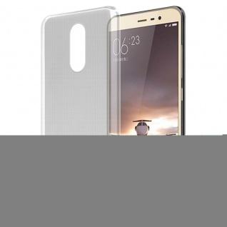 Cadorabo Hülle für Xiaomi RedMi Pro in VOLL TRANSPARENT - Handyhülle aus flexiblem TPU Silikon - Silikonhülle Schutzhülle Ultra Slim Soft Back Cover Case Bumper