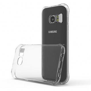 Cadorabo Hülle für Samsung Galaxy S7 - Hülle in STAR TRANSPARENT - Handyhülle aus TPU Silikon im LED-Blitzlicht-Design - Silikonhülle Schutzhülle Ultra Slim Soft Back Cover Case Bumper - Vorschau 2