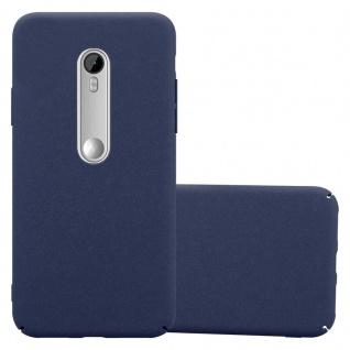 Cadorabo Hülle für Motorola MOTO G3 in FROSTY BLAU - Hardcase Handyhülle aus Plastik gegen Kratzer und Stöße - Schutzhülle Bumper Ultra Slim Back Case Hard Cover