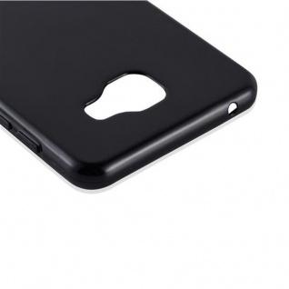 Cadorabo Hülle für Samsung Galaxy A7 2016 in SCHWARZ - Handyhülle aus flexiblem TPU Silikon - Silikonhülle Schutzhülle Ultra Slim Soft Back Cover Case Bumper - Vorschau 4