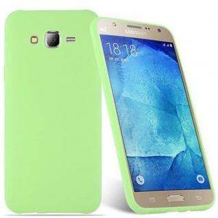 Cadorabo Hülle für Samsung Galaxy J7 2015 in CANDY PASTELL GRÜN - Handyhülle aus flexiblem TPU Silikon - Silikonhülle Schutzhülle Ultra Slim Soft Back Cover Case Bumper - Vorschau 2