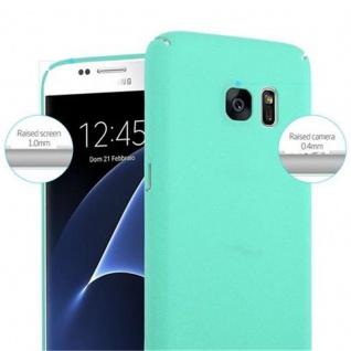 Cadorabo Hülle für Samsung Galaxy S7 in FROSTY GRÜN - Hardcase Handyhülle aus Plastik gegen Kratzer und Stöße - Schutzhülle Bumper Ultra Slim Back Case Hard Cover - Vorschau 5