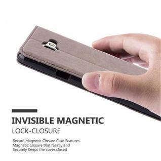 Cadorabo Hülle für Samsung Galaxy A7 2016 in KAFFEE BRAUN - Handyhülle mit Magnetverschluss, Standfunktion und Kartenfach - Case Cover Schutzhülle Etui Tasche Book Klapp Style - Vorschau 4