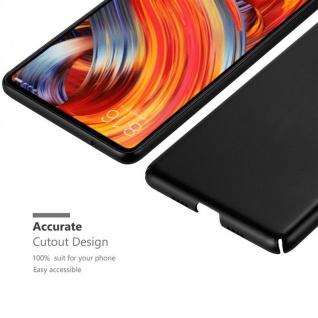 Cadorabo Hülle für Xiaomi Mi Mix 2 in METALL SCHWARZ ? Hardcase Handyhülle aus Plastik gegen Kratzer und Stöße ? Schutzhülle Bumper Ultra Slim Back Case Hard Cover - Vorschau 5
