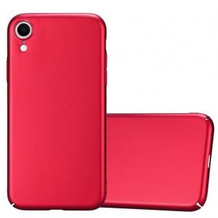 Cadorabo Hülle für Apple iPhone XR in METALL ROT - Hardcase Handyhülle aus Plastik gegen Kratzer und Stöße - Schutzhülle Bumper Ultra Slim Back Case Hard Cover