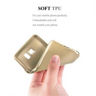 Cadorabo Hülle für Samsung Galaxy NOTE 5 in METALLIC GOLD - Handyhülle aus flexiblem TPU Silikon - Silikonhülle Schutzhülle Ultra Slim Soft Back Cover Case Bumper - Vorschau 5