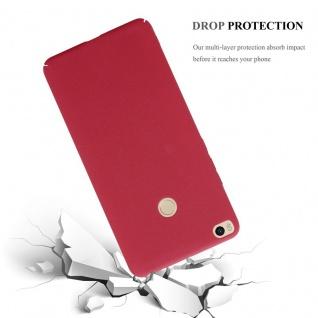 Cadorabo Hülle für Xiaomi Mi Max 2 in FROSTY ROT - Hardcase Handyhülle aus Plastik gegen Kratzer und Stöße - Schutzhülle Bumper Ultra Slim Back Case Hard Cover - Vorschau 3