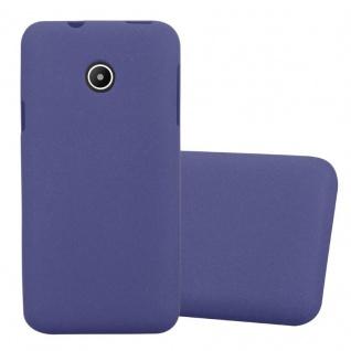 Cadorabo Hülle für Huawei Y330 in FROST DUNKEL BLAU Handyhülle aus flexiblem TPU Silikon Silikonhülle Schutzhülle Ultra Slim Soft Back Cover Case Bumper